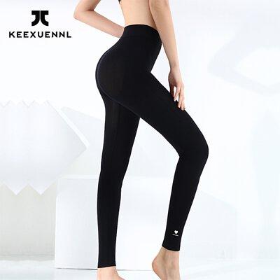 KEEXUENNL 升級版溫感保暖褲|黑色