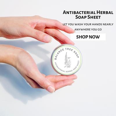 Antibacterial Herbal Soap Sheet