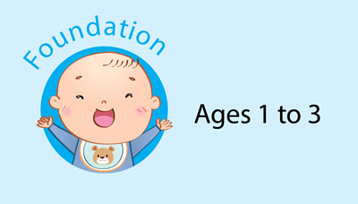 Foundation aged 1-3