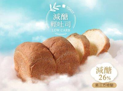 localoca減醣豆渣輕吐司,減醣、減卡、高纖,減脂,減醣麵包帶來輕盈新食感。