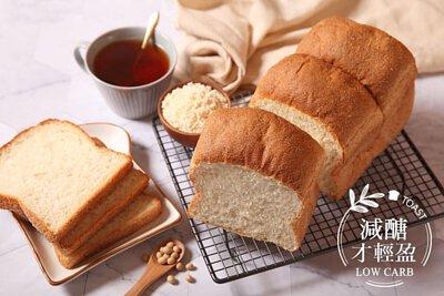 localoca減醣減卡豆渣輕吐司,減醣、高纖、低卡,減醣麵包帶來輕盈新生活。