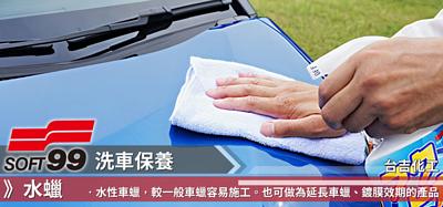 SOFT99,速特99,台吉化工,洗車,打蠟,鍍膜,保養,自助洗車,棕梠蠟,水蠟