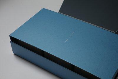 禮盒組 精裝盒 藍色盒子