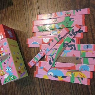 Gibby&Libby 條條拼圖 Stick Puzzle - 粉紅小甜心