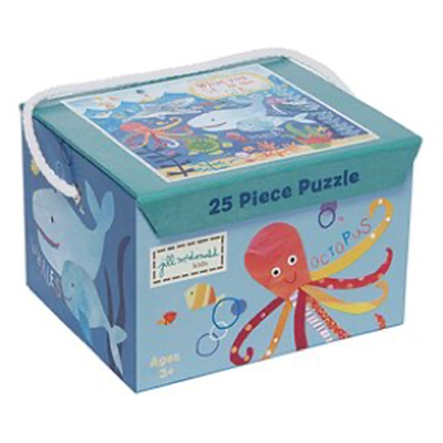 Gibby&Libby 25片拼圖 - 海底世界