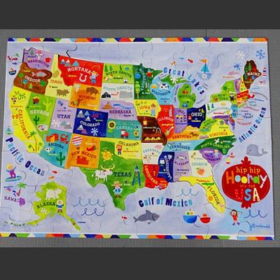 Gibby&Libby 美國地圖