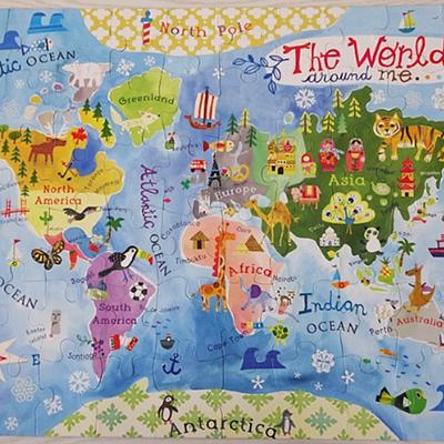 Gibby&Libby 世界地圖