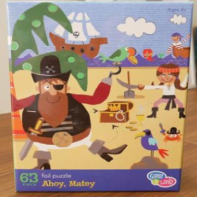 Gibby&Libby 63片拼圖-海盜寶藏