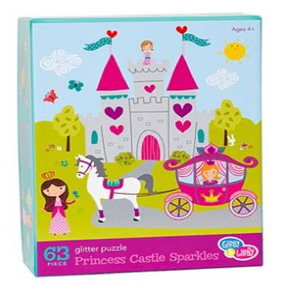 Gibby&Libby 63片拼圖-公主城堡