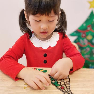 Melissa Doug 彩繪水晶壁貼-歡樂聖誕