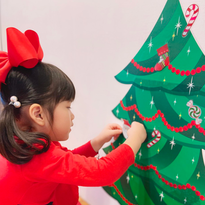 gibby libby 壁貼貼花-聖誕樹