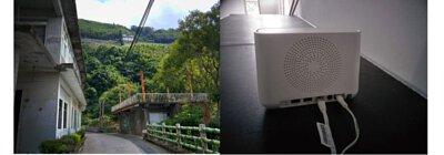 arlo Pro 基地台有具備警報蜂鳴器,可以發出高達100分⾙的警報⾳效