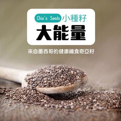 什麼是奇亞籽內容圖:芳茲生技-來自墨西哥的纖食奇亞籽