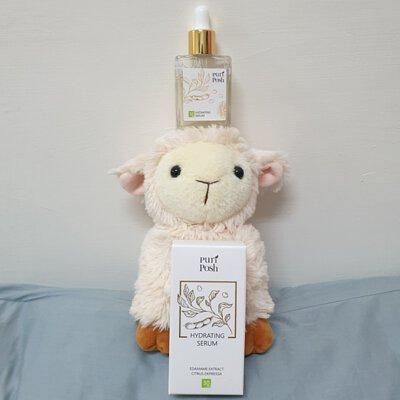 PuriPosh煥妍緊緻精華液清新的獨特香氣,非常放鬆療育