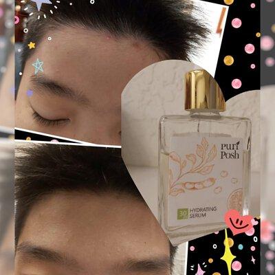 PuriPosh煥妍緊緻精華液 淡淡的香檸味青少年也愛用