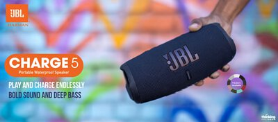 JBL Charge 5 便攜式防水藍牙喇叭
