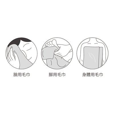 毛巾分開用更衛生