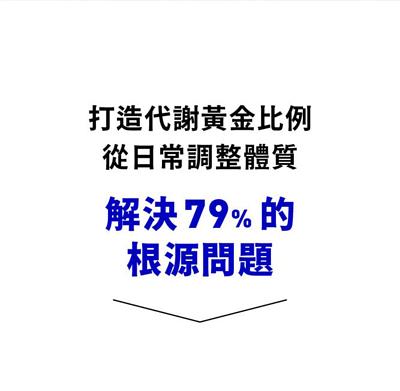 日常調整體質解決79%根源問題