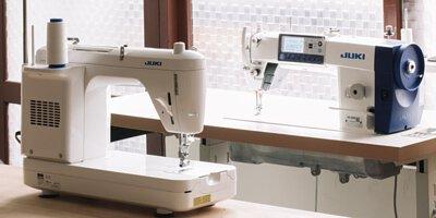 日本JUKI工業用縫紉機及家用縫紉機比較