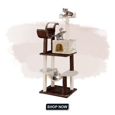 FINETHER 5-Tier Cat Tree Tower