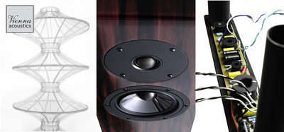 Aria Audio 雅詠音響代理的揚聲器品牌 Speaker Brand Vienna Acoustics 維也納 Concert Grand Series