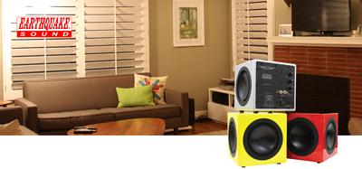 Aria Audio 雅詠音響代理的超低音品牌 Subwoofer Brand Earthquake Sound 大地震 Minime DSP Series