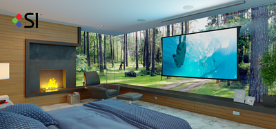 Aria Audio 雅詠音響代理的投影幕品牌 Projector Brand Screen Innovations 電幕 Motorized Screen