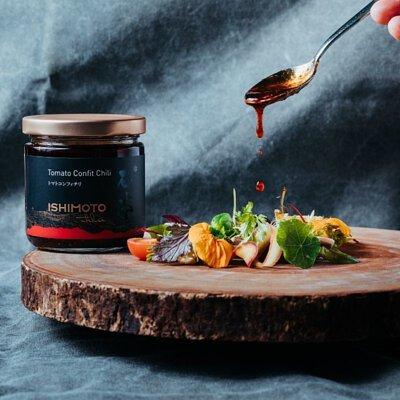 石本工作室Ishimoto Atelier 番茄辣椒醬食譜辣味番茄季節沙拉