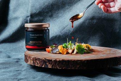 石本工作室 Ishimoto Atelier 油封番茄辣椒醬 - 辣味番茄季節沙拉食譜