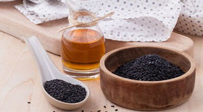 Black Sesame is good to our skin