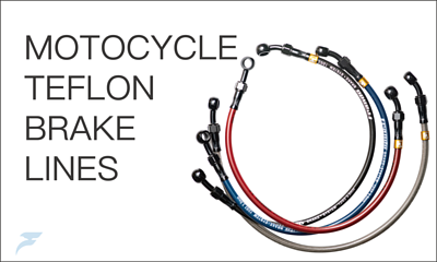 MOTOCYCLE Teflon brake lines