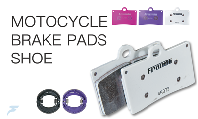 MOTOCYCLE Brake pads and shoe
