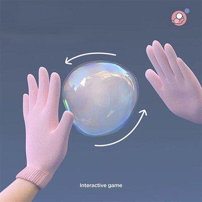Automatic magic smoke bubble machine for kids