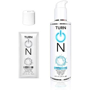 Turn On Water Based Lube
