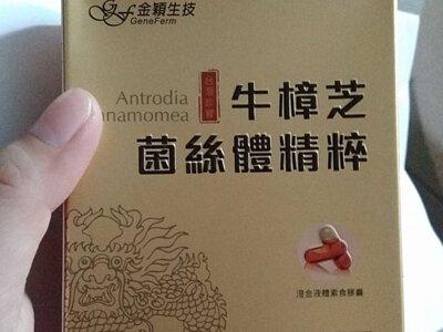 金大心 牛樟芝菌絲體精粹
