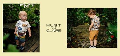 Hust & Claire 丹麥有機棉童裝 GOTS認證 安心無毒