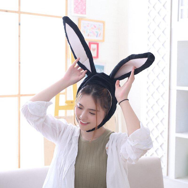 Details about  /Cute Girl Hat Plush Rabbit Bunny Ears Hat Earflap Cap Head Warmer Photo Suppl EW