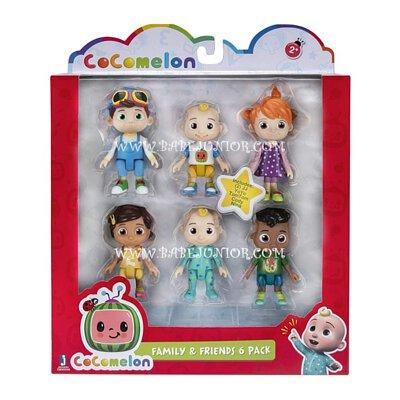 Cocomelon Family & Friends 6 Figure Pack hk tst mk st
