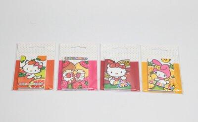 Hello Kitty三麗鷗水果節便利貼$45