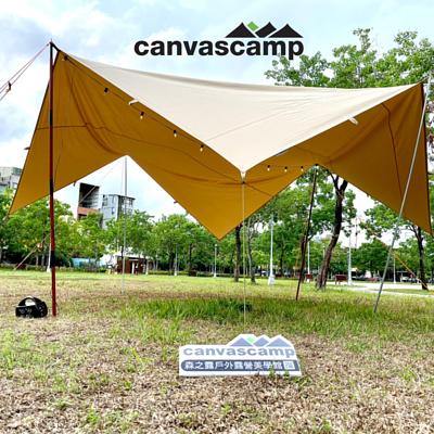 CanvasCamp 純棉方型天幕 5x5m
