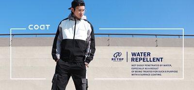RETOP風衣外套推薦|2021風衣外套穿搭|秋冬男款薄風衣|男款運動風衣