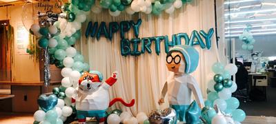 Dịch vụ trang trí sinh nhật hcm